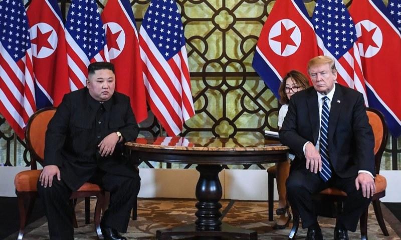 شمالی کوریا پر عائد تمام پابندیاں نہیں ہٹائی جاسکتیں، ٹرمپ