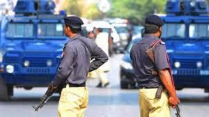 کراچی سرجانی پولیس کی کاروائی