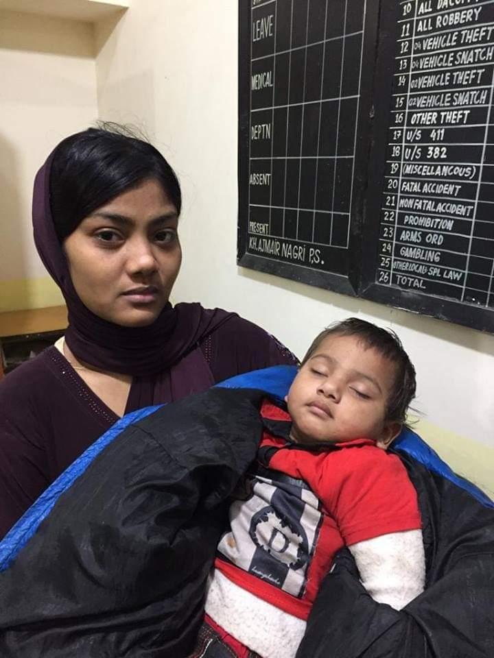 خواجہ اجمیر نگری میں ڈیڑھ سالہ بچے کی اغوا کی واردات کا ڈراپ سین ، بچے کا باپ ہی اغواکار نکلا