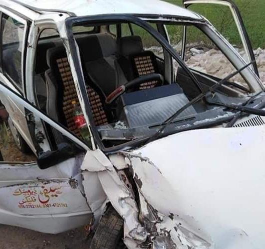 فاروق آباد کے قریب حادثہ