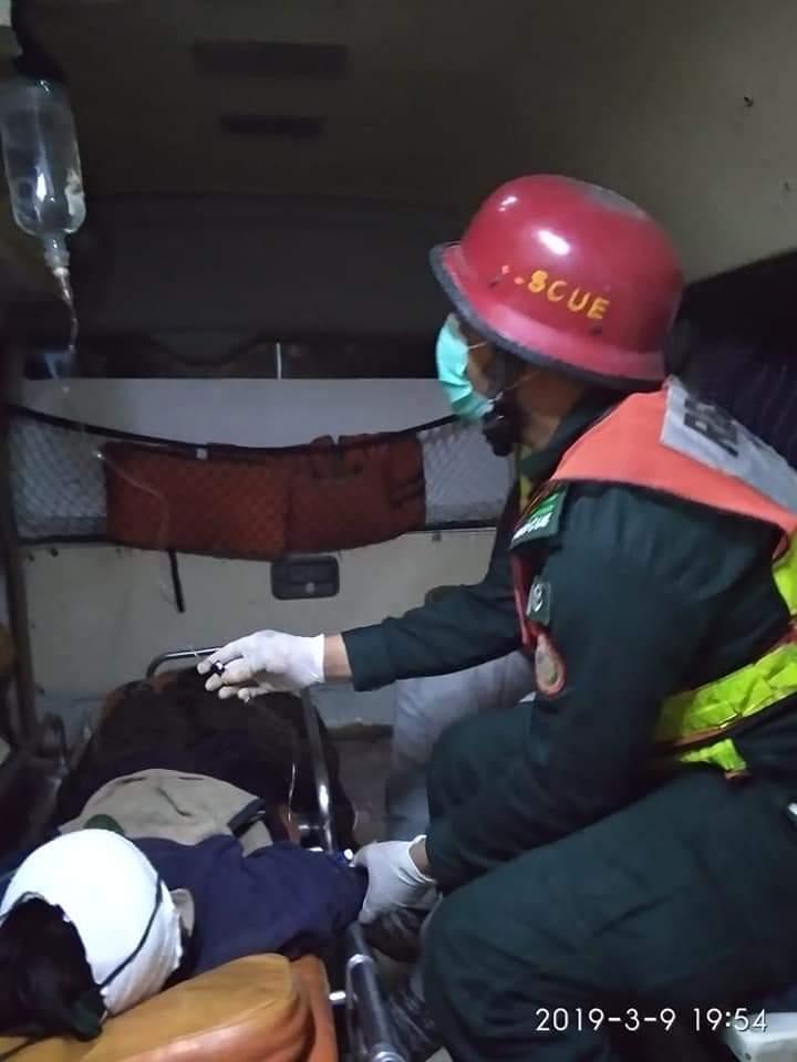 گوجرہ: ٹوبہ روڈ پر دو موٹرسائیکلوں کے مابین تصادم