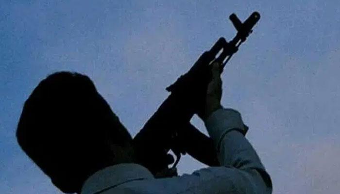 کراچی گلشن غازی میں ہوائی فائرنگ