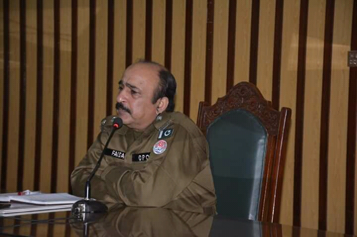 ڈسٹرکٹ پولیس آفیسر سرگودھا فیصل گلزار کی ضلع بھر کے ایس ایچ اوز سے میٹنگ