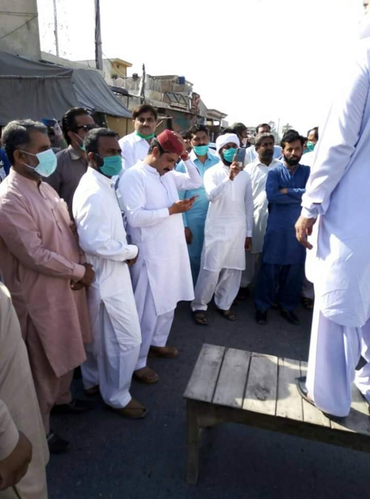 لیہ۔ پہاڑ پور میں ٹیچرز کا احتجاج ۔