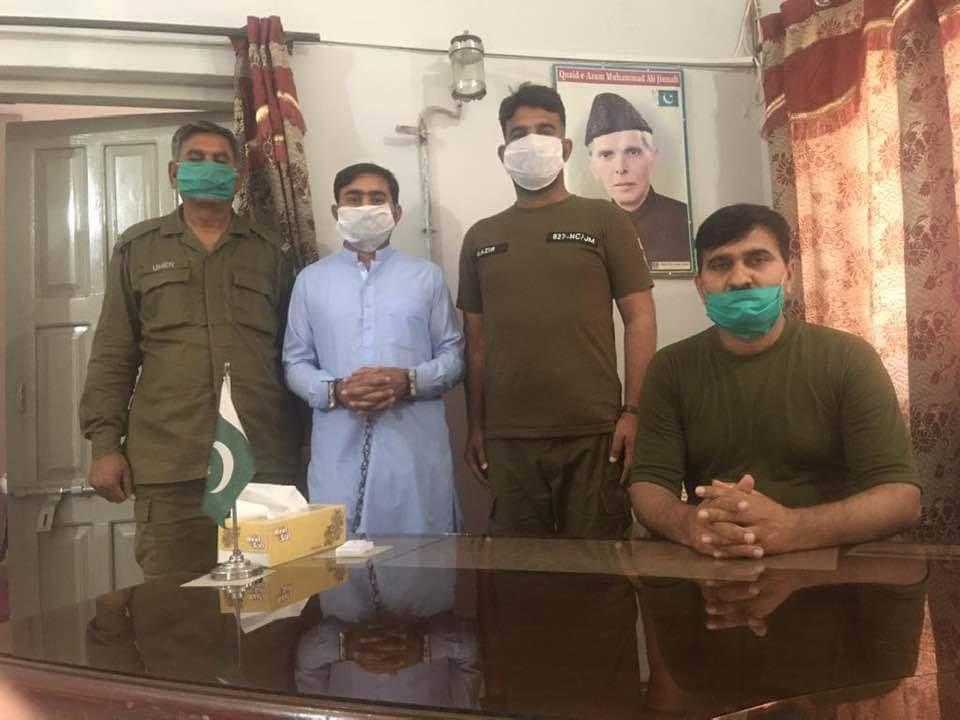 پنڈ دادن خان پولیس کی اشتہاریوں کے خلاف مہم