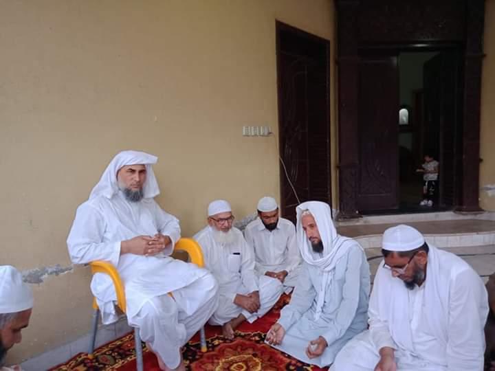 نارووال۔ 15 رمضان المبارک مختصر تقریب زیر صدارت سید مدثر حسین شاہ صاحب علی پور سیداں شریف۔