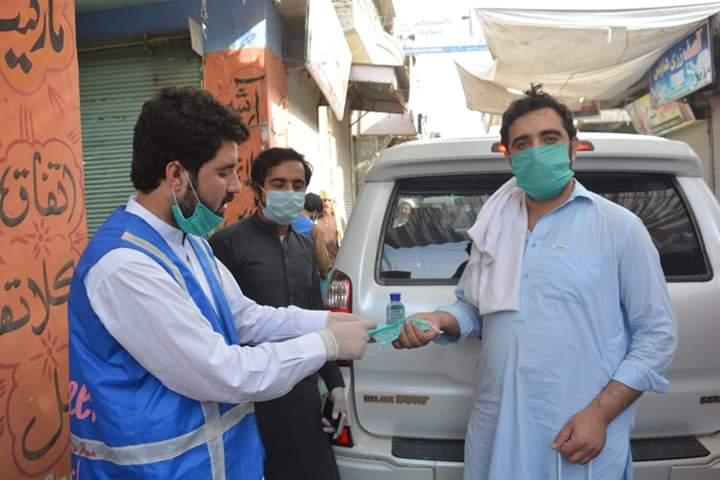 تخت بھائی : کرونا وائرس بچاؤ مہم