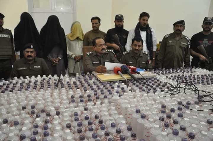 لیہ پولیس نے عید پر شراب سپلائی کا بڑا منصوبہ ناکام بنا دیا