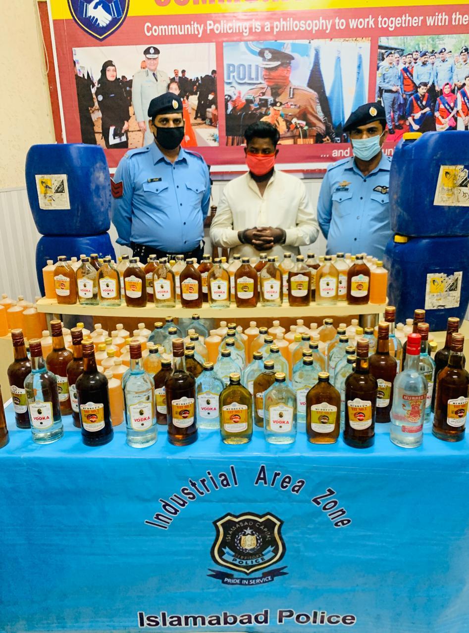 آئی جی اسلام آباد محمد عامر ذوالفقار خان کی احکامات کے روشنی میں منشیات فروشوں کے خلاف بھرپور کاروائیاں