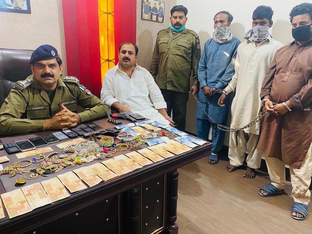 لاہور انویسٹی گیشن پولیس اقبال ٹاؤن کی کارروائی۔