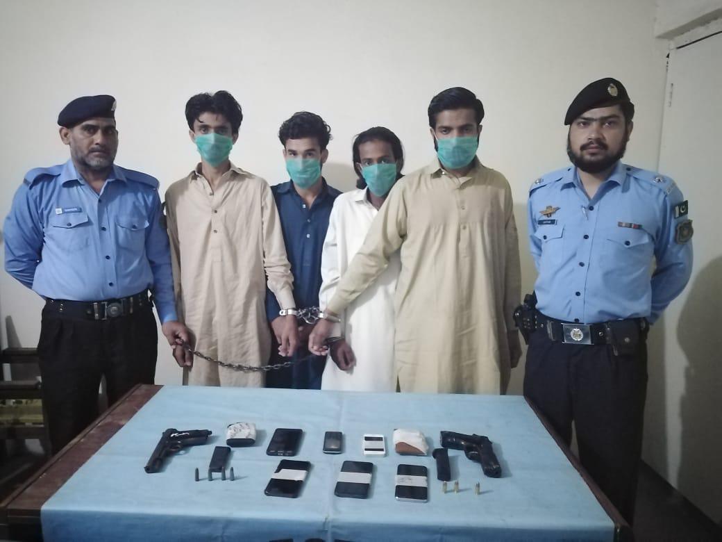 اسلام آباد، ڈی آئی جی آپریشنز وقار الدین سیدکے احکامات پر ڈکیتوں کے خلاف کریک ڈاؤن جاری
