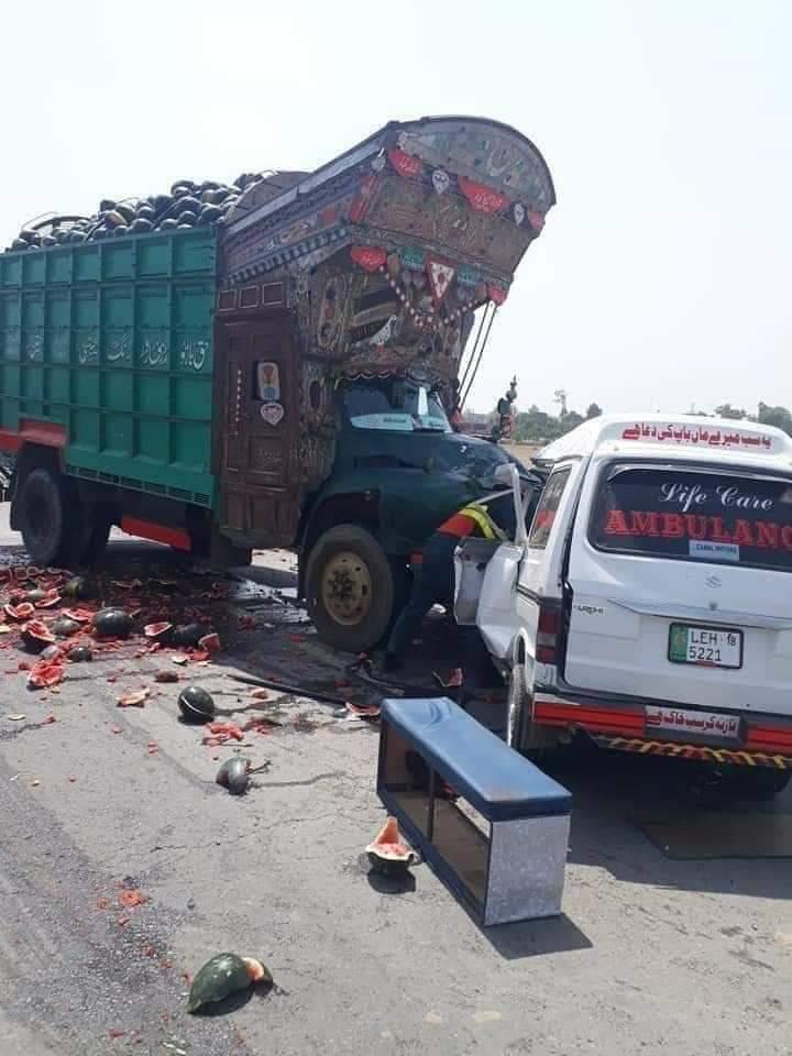 ساہیوال میں افسوسناک حادثہ