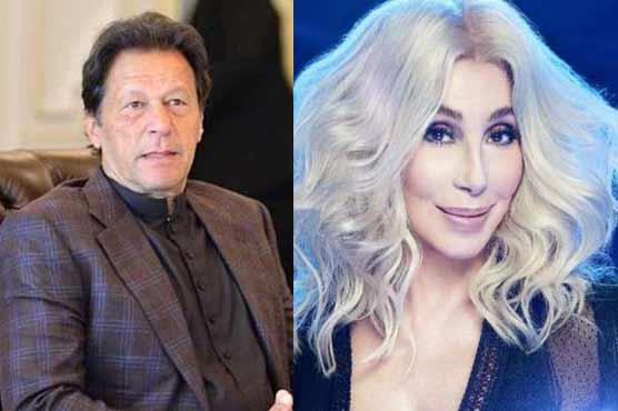 امریکی گلوکارہ شییر بھی پاکستانی وزیراعظم عمران خان کی مداح نکلیں