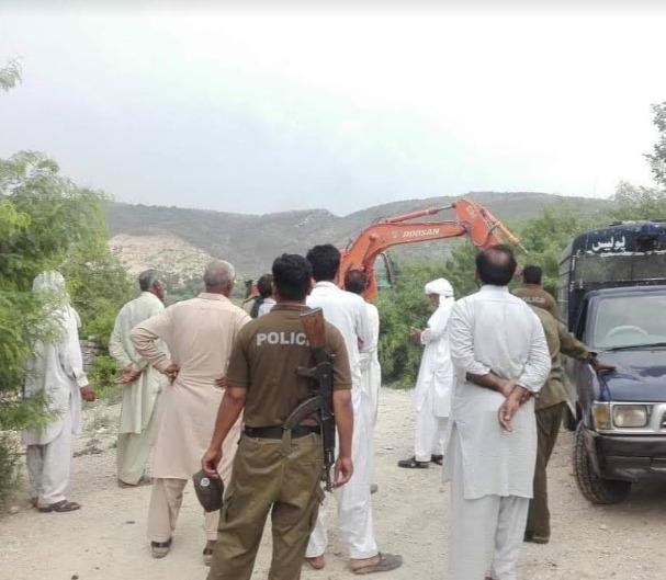 چکوال تھانہ کلرکہار کے علاقہ میں واردات