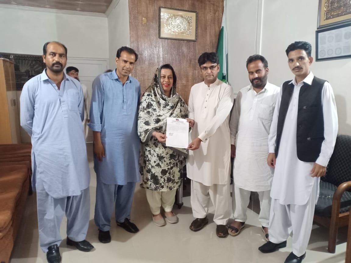 چوہدری لطیف بھائی کو نائب صدر ویلفیئرونگ ڈسٹرکٹ ایبٹ آباد بننے پر مبارکباد