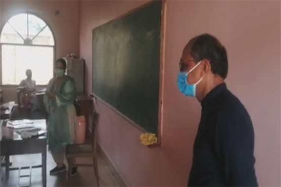 سعید غنی کا کراچی کے مختلف سکولوں کا دورہ، کورونا ایس او پیز کا جائزہ لیا