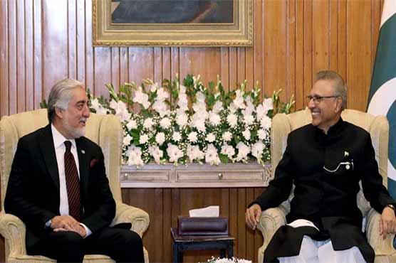 صدر مملکت عارف علوی کا افغان امن عمل کے لئے پاکستان کی حمایت کا اعادہ
