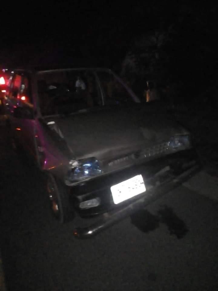 مانسہرہ : موٹر کار اور ٹریکٹر میں تصادم