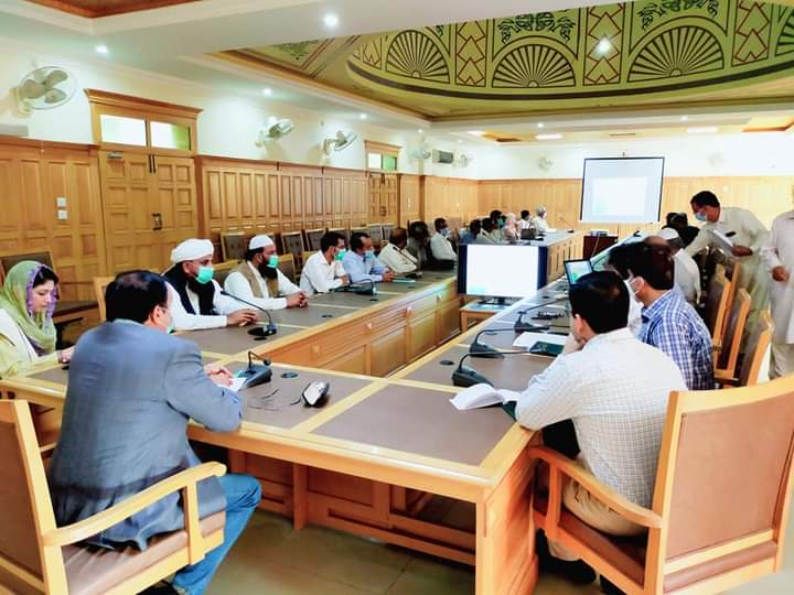 نارووال۔ڈپٹی کمشنر مہر شاہد زمان لک کی زیرصدارت پولیو اور ڈینگی کے حوالے سے اہم میٹنگ