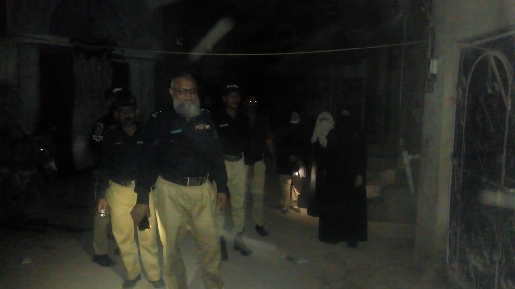 کراچی : رینجرز اور پولیس کا مشترکہ آپریشن