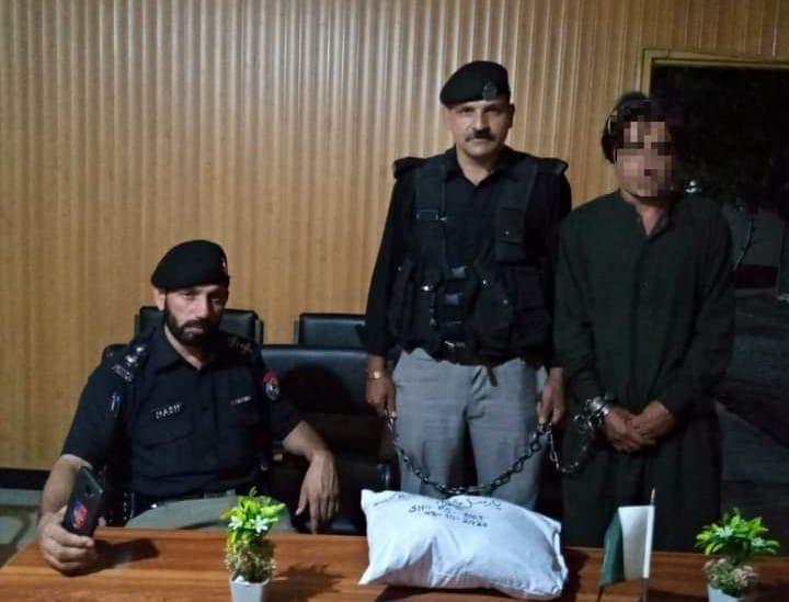 بالاکوٹ : منشیات فروشوں کے خلاف کاروائیاں