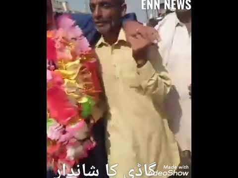 لیہ : کوٹ سلطان میں ایس ایچ او کلیم اللہ گاڈی کا تاجر برداری نے  شاندار استقبال کیا