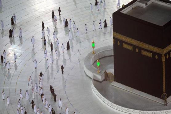 مسجد الحرام میں عمرہ کی ادائیگی کے تیسرے مرحلے کا آغاز ہو گیا