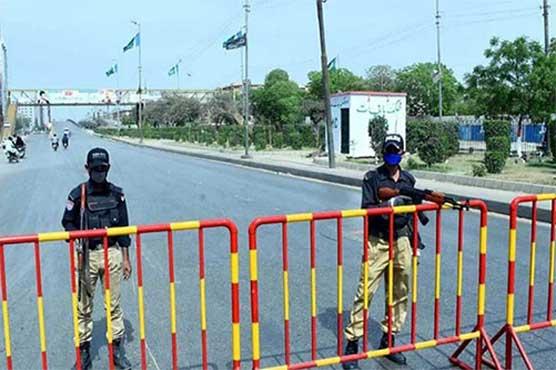 کراچی کے مختلف علاقوں میں مائیکرواورسمارٹ لاک ڈاؤن نافذ