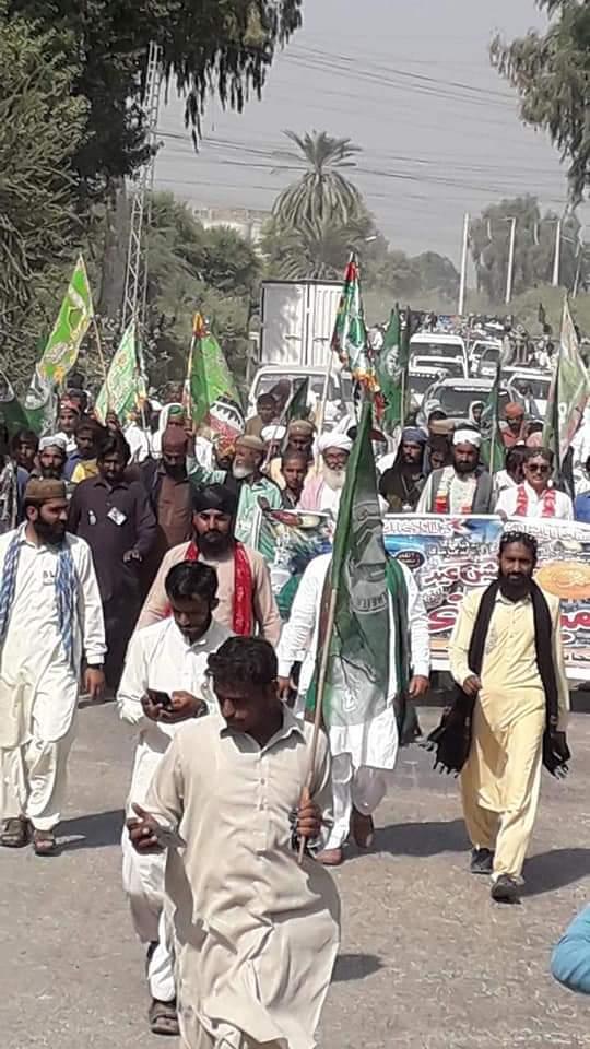 گڈو شہر بھر میں جشنِ عید میلادالنبی کی ریلیاں 