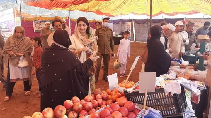 اسسٹنٹ کمشنر نارووال سیدہ تہنیت بخاری نے نارووال، بدوملہی اور قلعہ احمد آباد میں پنجاب   حکومت کی ہدایت پر لگنے والے سہو لت بازاروں کا دورہ کیا