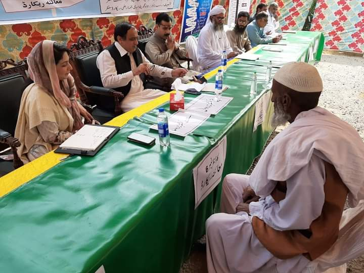 ڈپٹی کمشنر نارووال کی زیر نگرانی ضلع کی تینوں تحصیلوں میں کھلی کچہریوں کا انعقاد کیا گیا