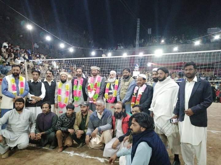 بالاکوٹ آل پاکستان والی بال ٹورنامنٹ