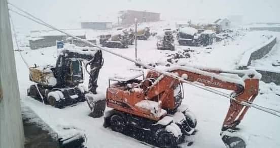 کاغان ناراں میں موسم سرما کی پہلی برف باری