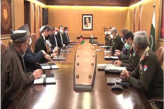مستحکم اور خوشحال افغانستان ہی پاکستان کے مفاد میں ہے: آرمی چیف
