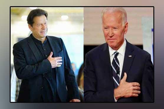 'جوبائیڈن پاکستان کیساتھ کام کرنےکےخواہشمند،وزیراعظم کیساتھ پیغامات کا تبادلہ'