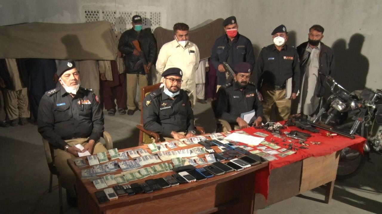 کراچی : شاہ لطیف پولیس کی بڑی کارروائی
