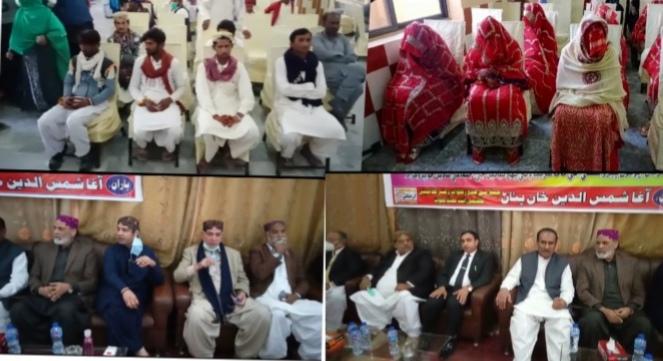 کندھ کوٹ : اجتماعی شادی تقریب