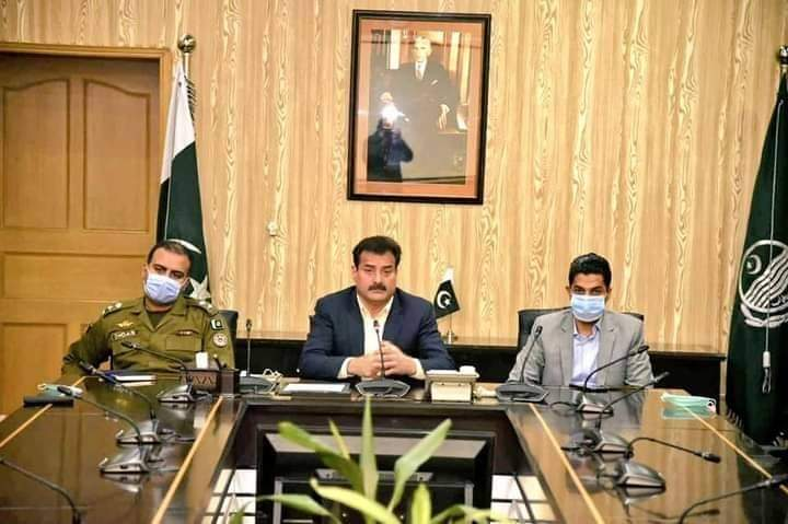 میٹروپولیٹن کارپوریشن عہدیداروں کی ڈپٹی کمشنر راولپنڈی،  متعلقہ اسسٹنٹ کمشنرز، متعلقہ ایس ایس پی انوسٹی گیشن اور متعلقہ ایس پیز سے ملاقات