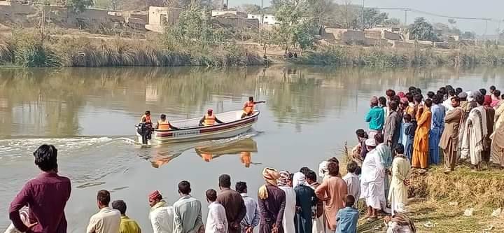 اوچ شریف  25 سالہ نوجوان نہر میں گر کر ھلاک ھو گیا