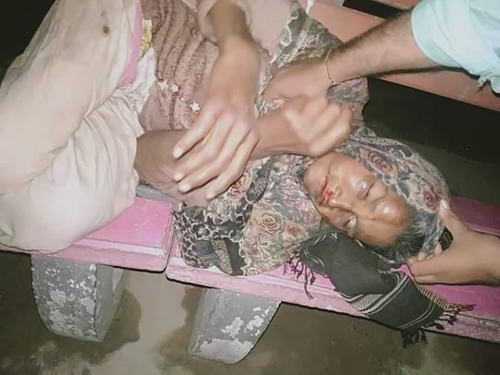 ٹوبہ ٹیک سنگھ:-  نامعلوم عورت کی زخمی حالت