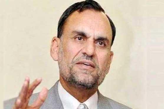 اعظم سواتی کو این اے 249 کی الیکشن کمپین میں حصہ لینے پر شوکاز نوٹس جاری