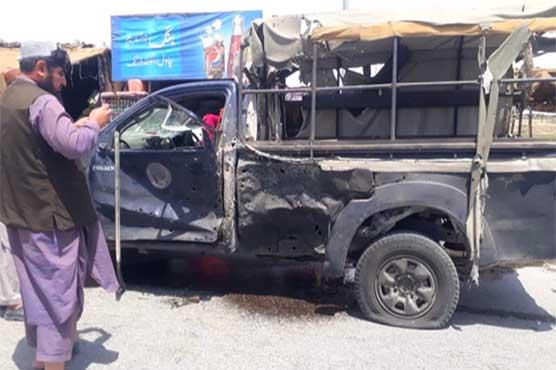 قلعہ عبداللہ میں پولیس وین کے قریب دھماکہ، ایک پولیس اہلکار شہید، 3 افراد زخمی