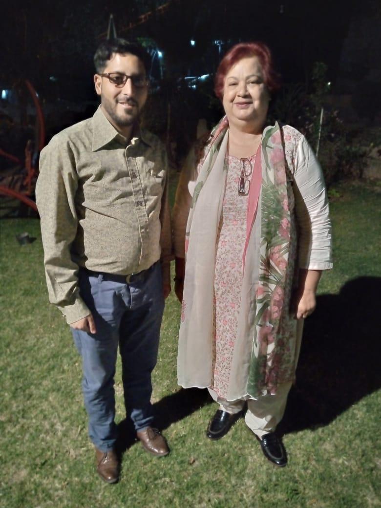 وومین ونگ کی پریذیڈنٹ محترمہ  رخسانہ جمشید اور ڈاکٹر ملک مہران اعوان کے ساتھ  میٹنگ