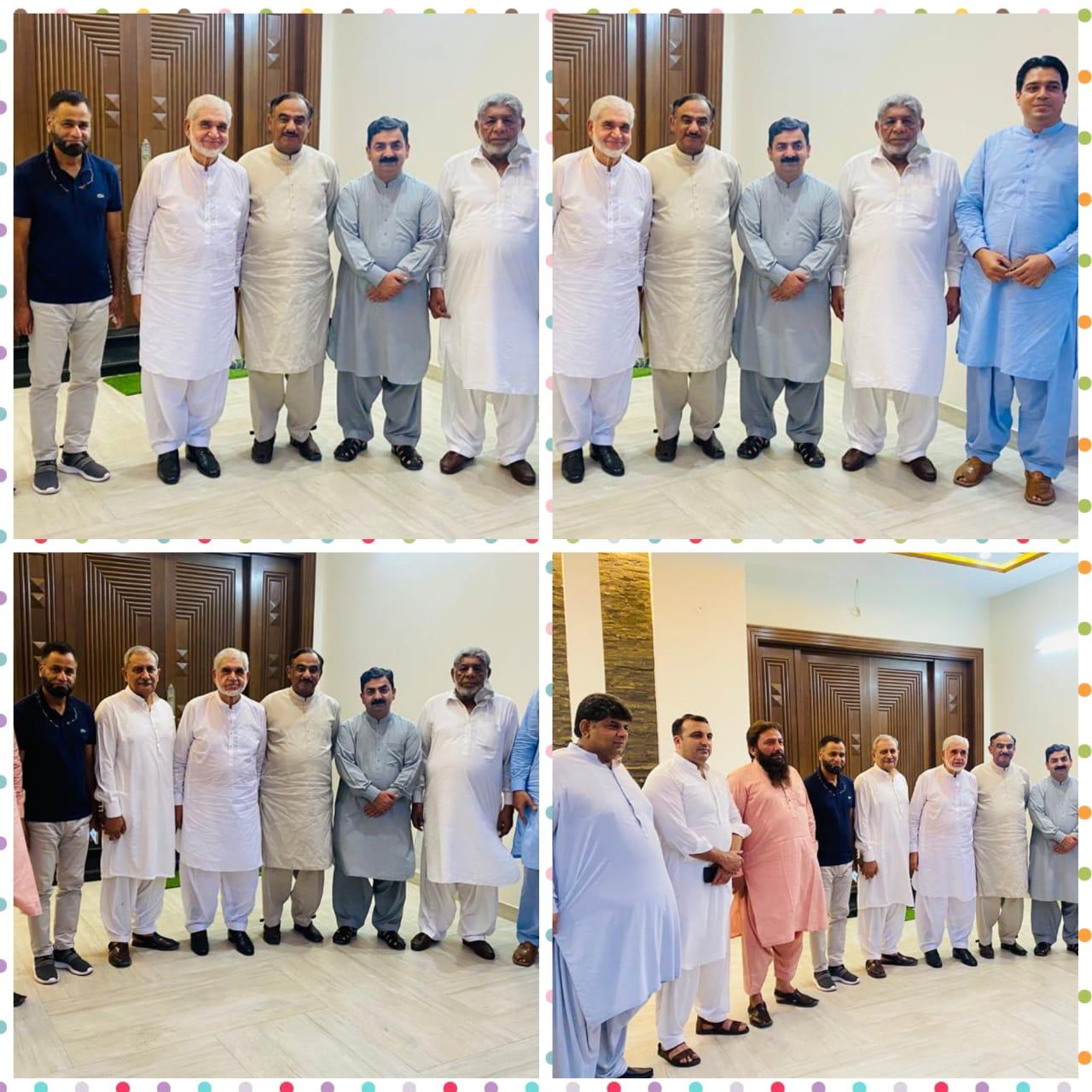 معروف قانون دان اور سابق صدر سپریم کورٹ بار کونسل محمد اکرم شیخ کی آمد