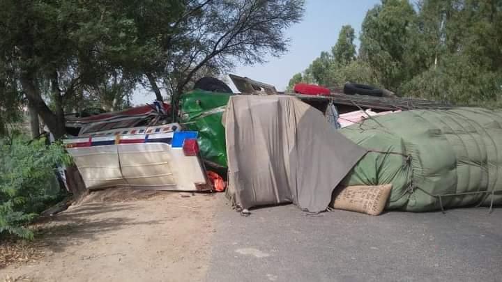 ریسکیو 1122 ٹوبہ ٹیک سنگھ کی گاڑی حادثے کا شکار