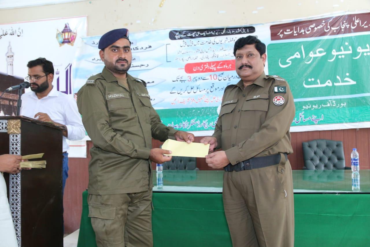 ننکانہ صاحب : ڈی پی او بلال افتخار کی ہدایت پر ضلع کونسل ہال ننکانہ میں تقسیم انعامات کی تقریب منعقد