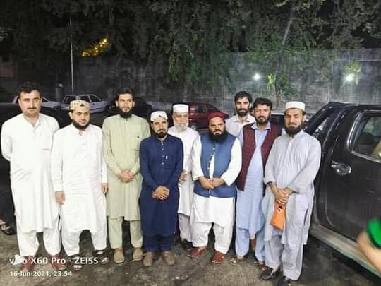 حافظ نور خان دیشانی کی جانب سے پر تکلف عشائیہ کا اہتمام