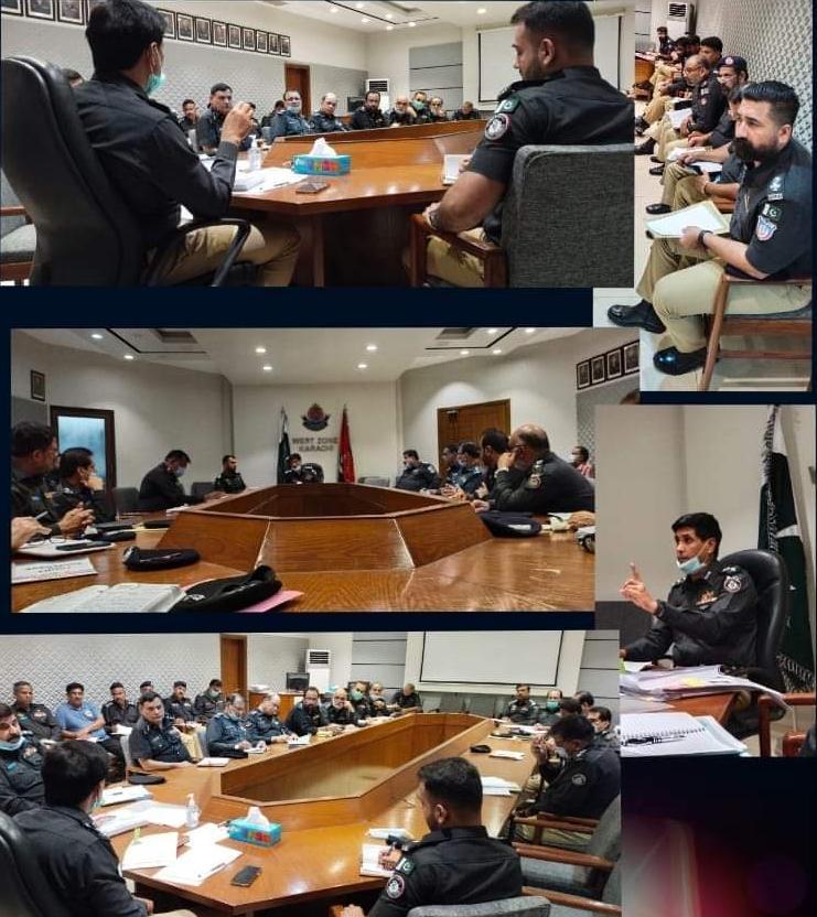 کانفرنس روم ڈسٹرکٹ سینٹرل کی  ارجنٹ میٹنگ