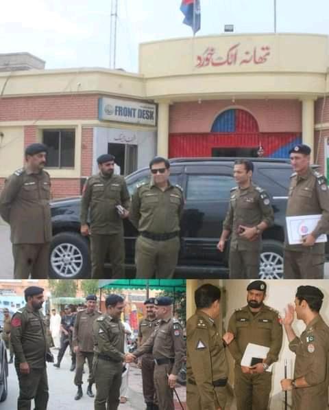 ریجنل پولیس آفیسر راولپنڈی عمران احمر نے تھانہ حضرو، رنگو ، اٹک خورد ، سٹی اٹک اور صدر اٹک کا وزٹ