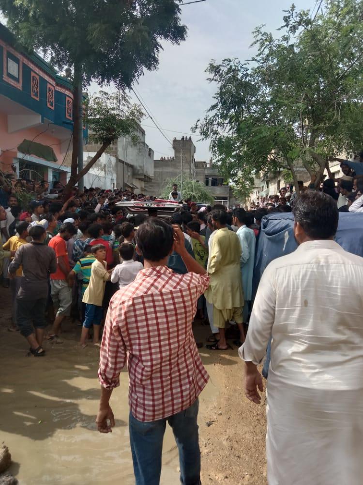 کراچی سرجانی کے علاقے میں پولیس اور ڈکیتوں مبینہ مقابلہ